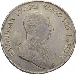 Monedă > 1taler, 1807-1822 - Bavaria  - obverse