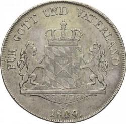 Monedă > 1taler, 1807-1822 - Bavaria  - reverse
