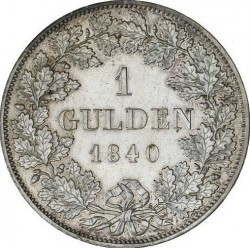 Moneda > 1florín, 1840 - Baviera  - reverse