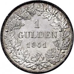 מטבע > 1גולדן, 1841 - בוואריה  - reverse