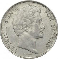 Moneda > 1florín, 1842 - Baviera  - obverse