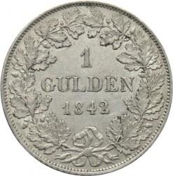 Moneda > 1florín, 1842 - Baviera  - reverse