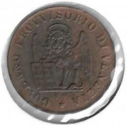 Moeda > 1centésimo, 1849 - Veneza  - reverse