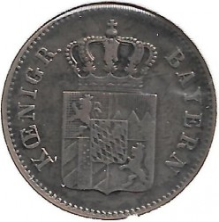 Moneda > 6kreuzer, 1839-1856 - Baviera  - reverse