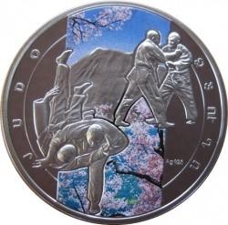 Moneda > 1000dram, 2011 - Armenia  (Deportes de Combate - Judo) - reverse