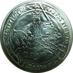 მონეტა > 5ფრანკი, 2000 - საფრანგეთი  (2000th Anniversary - French Coinage, Gold Frank of John II) - reverse
