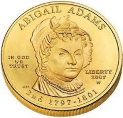 Moneta > 10dolarów, 2007 - USA  (Pierwsze damy - Abigail Adams (1797-1801)) - obverse