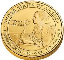 Moneta > 10dolarów, 2007 - USA  (Pierwsze damy - Abigail Adams (1797-1801)) - reverse