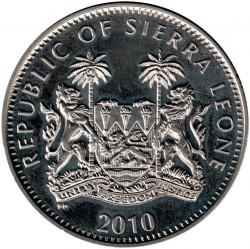 Moneda > 1dólar, 2010 - Sierra Leona  (XXX Juegos olímpicos de verano, Londres 2012) - obverse
