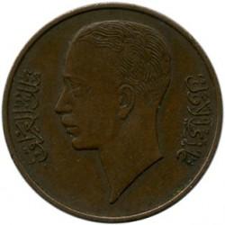 Coin > 1fils, 1936-1938 - Iraq  - obverse