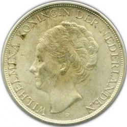 Moneta > 2½fiorini, 1943 - Indie Olandesi Orientali  - obverse
