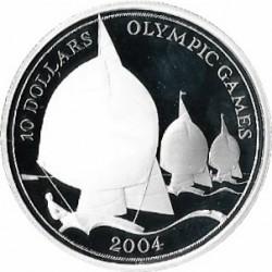 Moneta > 10dollari, 2003 - Figi  (XXVIII Giochi olimpici estivi, Atene 2004) - reverse