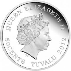 Монета > 50центів, 2012 - Тувалу  (Кохання навіки) - obverse
