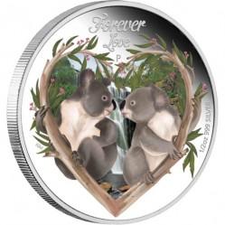 Монета > 50центів, 2012 - Тувалу  (Кохання навіки) - reverse