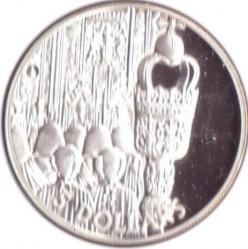 Moneta > 5dollari, 2002 - Salomone (Isole)  (50° anniversario - Ascesa della regina Elisabetta II ) - reverse