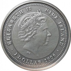 Moneta > 1dolar, 2006 - Niue  (Chiński zodiak - Rok świni) - obverse