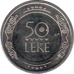 錢幣 > 50列克, 2004 - 阿爾巴尼亞  - reverse