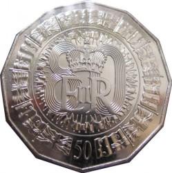 Монета > 50центів, 2006 - Австралія  (80 років від народження королеви Єлизавети II) - reverse