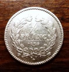 Moneta > ¼franco, 1831-1845 - Francia  - obverse