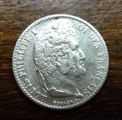 Moneta > ¼franco, 1831-1845 - Francia  - reverse