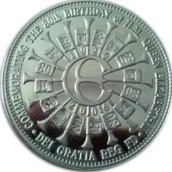 Moneda > 5libras, 2006 - Tristán de Acuña  (80th Anniversary - Birth of Queen Elizabeth II /Monogram/) - reverse