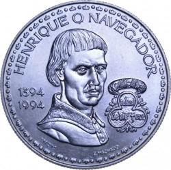Монета > 200ескудо, 1994 - Португалія  (600-та річниця - Народження Генріха Мореплавця) - reverse