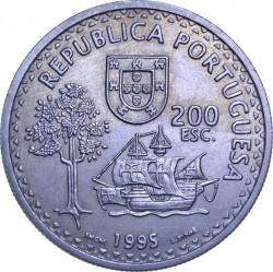 Moneta > 200escudo, 1995 - Portugalia  (480 rocznica - Solor i Timor) - obverse