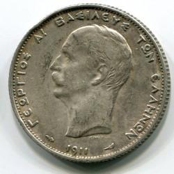 Moneta > 2drachmy, 1911 - Grecja  - obverse