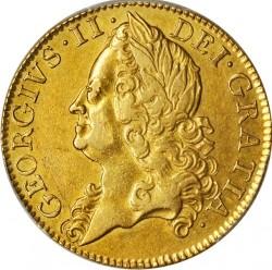 Monēta > 2guineas, 1748-1753 - Lielbritānija  - obverse