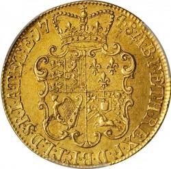 Monēta > 2guineas, 1748-1753 - Lielbritānija  - reverse