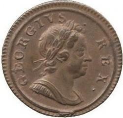 Кованица > 1фартинга, 1717 - Уједињено Краљевство  - obverse