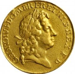 Кованица > 5guineas, 1716-1726 - Уједињено Краљевство  - obverse