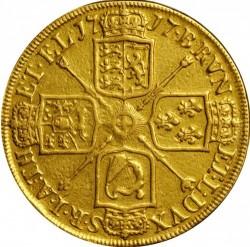 Кованица > 5guineas, 1716-1726 - Уједињено Краљевство  - reverse