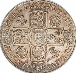 Moneda > 1corona, 1716-1726 - Reino Unido  - reverse