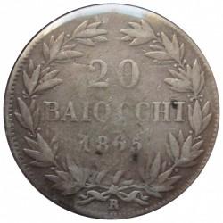 Moneta > 20baiocchi, 1858-1865 - Stato Pontificio  - obverse