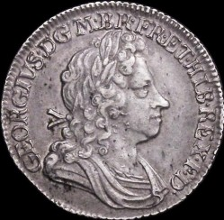 Moneda > 1chelín, 1715-1723 - Reino Unido  - obverse