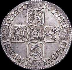 Moneda > 1chelín, 1715-1723 - Reino Unido  - reverse