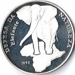 Moneta > 10000pesos, 1993 - Guinea-Bissau  (Elefante) - reverse