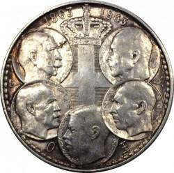 Moneta > 30dracme, 1963 - Grecia  (100° anniversario - I cinque re di Grecia) - obverse