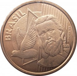 Moneta > 5centavos, 1998-2018 - Brazylia  - obverse