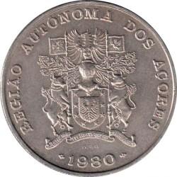 Монета > 100ескудо, 1980 - Азорські острови  (Автономний регіон Азорські острови) - reverse