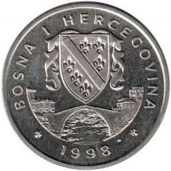 Монета > 5марок, 1998 - Боснія і Герцеговина  (XXVII літні Олімпійські ігри, Сідней 2000) - obverse