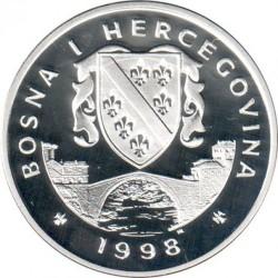 Монета > 10марок, 1998 - Боснія і Герцеговина  (XXVII літні Олімпійські ігри, Сідней 2000) - obverse
