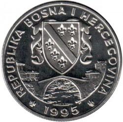 Монета > 1суверен, 1995 - Босния и Герцеговина  (Лошади - Английский хакнэ) - obverse