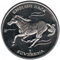 Монета > 1суверен, 1995 - Босния и Герцеговина  (Лошади - Английский хакнэ) - reverse
