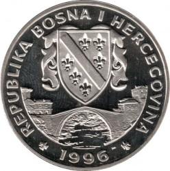Pièce > 1suverena, 1996 - Bosnie-Herzégovine  (Chevaux - Hanovrien) - obverse