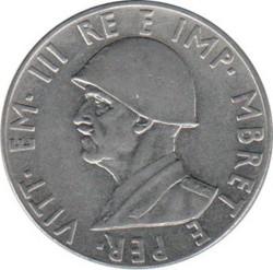 سکه > 2لکه, 1939 - آلبانی  (Non-magnetic) - obverse