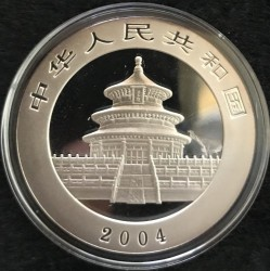 Moneta > 10yuan, 2004 - Cina  (Panda) - obverse