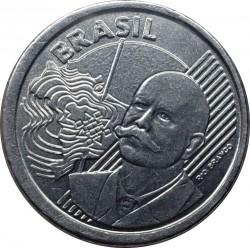 Moeda > 50centavos, 2012 - Brasil  (Erro - Cunhagem com reverso de 5 Centavos) - obverse