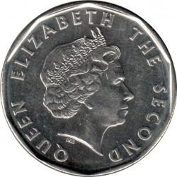 Moneta > 1dollaro, 2015 - Caraibi Orientali  (50° anniversario - Valuta dei Caraibi orientali) - obverse